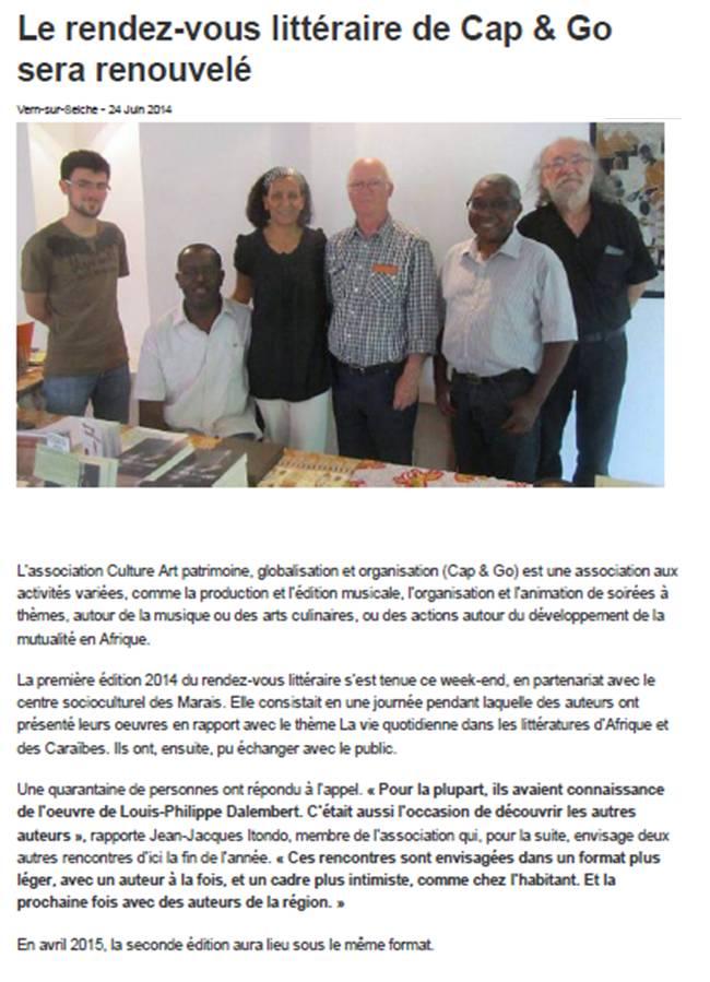 Ouest-France 24 juin 2014